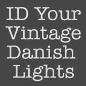 ID Your Vintage Danish Lights
